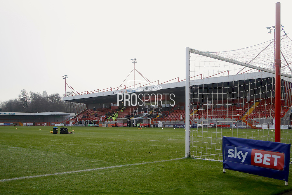 Checkatrade.com Stadium during the EFL Sky Bet League 2 match between Crawley Town and Newport County at the Checkatrade.com Stadium, Crawley, England on 17 December 2016. Photo by Andy Walter.