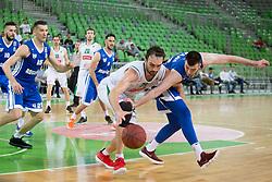 Mirza Begic of KK Petrol Olimpija Ljubljana during basketball match between KK Petrol Olimpija and KK Rogaska in 1st Semifinal match of Liga Nova KBM 2017/18, on May 9, 2018, in Arena Stozice, Ljubljana, Slovenia. Photo by Urban Urbanc / Sportida