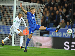 MARC ALBRIGHTON LEICESTER CITY Leicester City v Leeds United EFL League Carabao Cup  Fourth Round, King Power Stadium Tuesday 24th October 2017, Score 2-1, Photo:Mike Capps