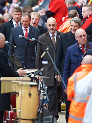 LIVERPOOL, ENGLAND - Friday, April 15, 2016: Former Liverpool player Bruce Grobbelaar during the 27th Anniversary Hillsborough Service at Anfield. (Pic by David Rawcliffe/Propaganda)
