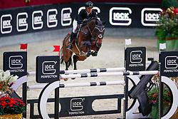 Kayser Julia, (AUT), Sterrehofs Cayetano Z<br /> MEVISTO Amadeus Horse Indoor Salzburg<br /> © Hippo Foto - Stefan Lafrentz<br /> 11-12-2016