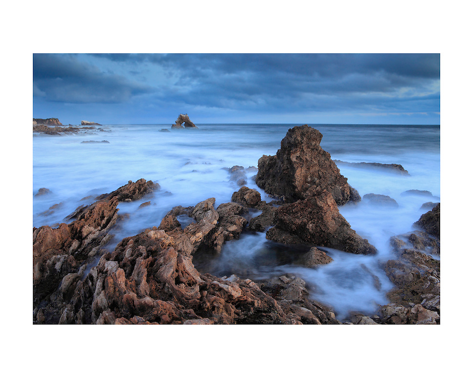 Tide Pools And Arch Rock - Corona Del Mar - Dusk