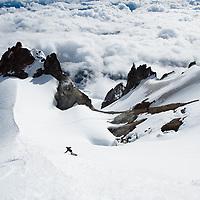 Mt. Hood Summit Snowboarding