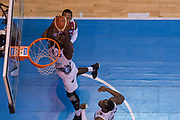 Dustin Hogue<br /> EA7 Emporio Armani Olimpia Milano - Dolomiti Energia Aquila Basket Trento<br /> LegaBasket Serie A 2017/2018<br /> Desio, 17/03/2018<br /> Foto M.Ceretti / Ciamillo-Castoria