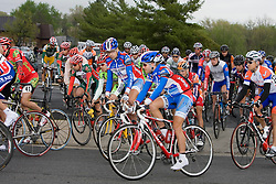 And they're off... Stage 5 of The Tour of Virginia traveled over 100 miles from Waynesboro, VA to Staunton on April 27, 2007. The stage took country roads to the south with a few rolling climbs before returning north to Staunton.  Formerly known as the Tour of Shenandoah, the ToV has gained National Race Calendar (NRC) status for the first time in its five year history.