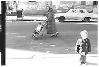 Street photography. 1980