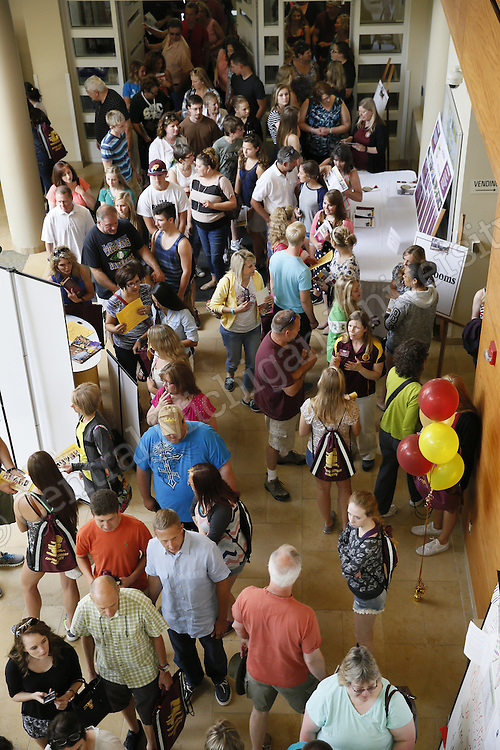 Health Professions college day at the Health Professions building in July 2015. Photo by Steve Jessmore/ Central Michigan University
