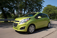 The 2013 Chevrolet Spark is featured at a media drive program Thursday, September 6, 2012 in Chicago, Illinois. The Spark is now available at Chevrolet dealers. (Photo for Chevrolet)