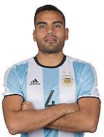 Football Conmebol_Concacaf - <br />Copa America Centenario Usa 2016 - <br />Argentina National Team - Group D -<br />Gabriel Mercado