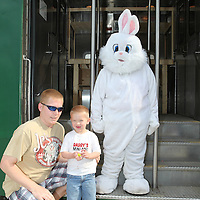 Easter Bunny Express, French Lick Scenic Railway, April 2013