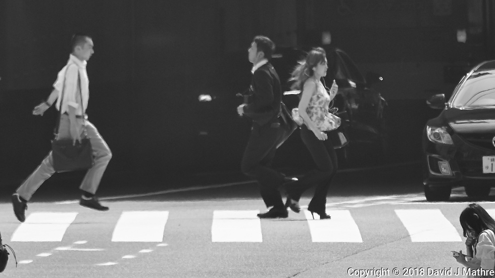 Morning walkabout in and around the Shinjuku Train & Subway Station. Image taken with a Nikon 1 V3 camera and 70-300 mm VR lens.