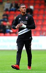 Rhys Lovett of Cheltenham Town - Mandatory by-line: Nizaam Jones/JMP- 28/07/2018 - FOOTBALL - Jonny-Rocks Stadium - Cheltenham, England - Cheltenham Town v Walsall - Pre-season friendly