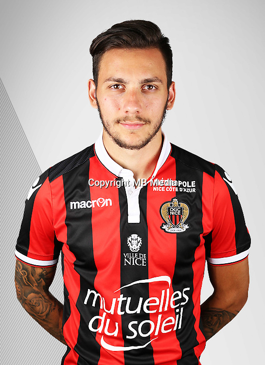 Anastasios DONIS during the photocall of Nice on 10th September 2016<br /> Photo : Nice / Icon Sport