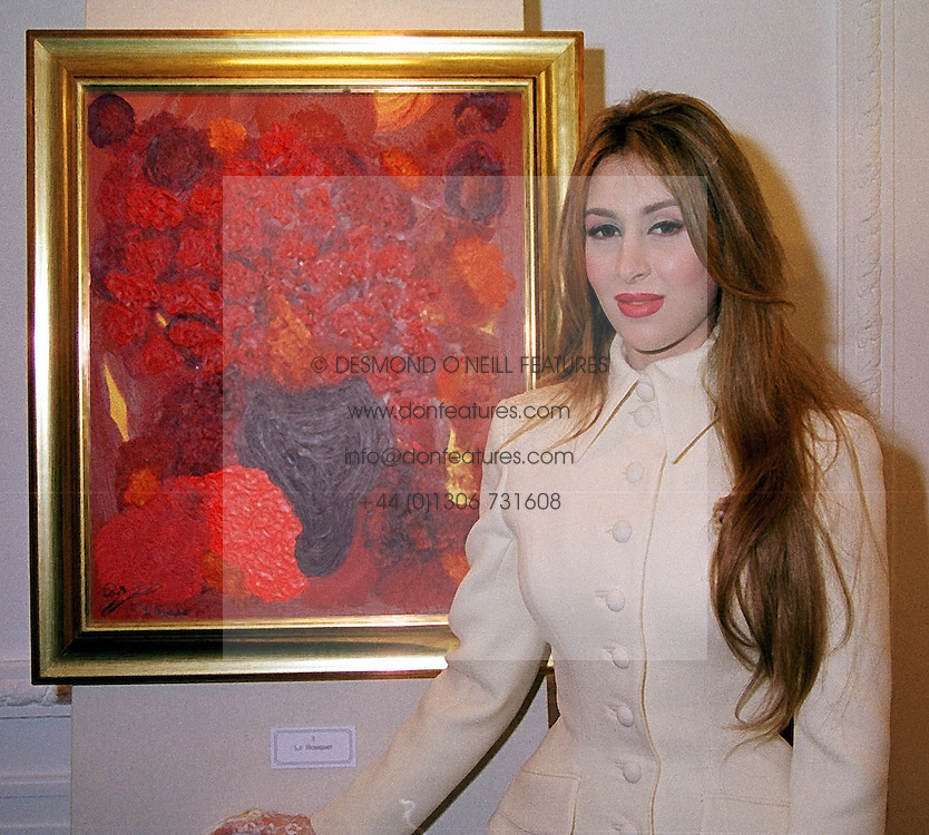 HH SHEIKHA BOUCHRA BINT MOHAMMED AL MAKTOUM at a party in London on 16th March 2000.OCC 59<br /> &copy; Desmond O&rsquo;Neill Features:- 0208 971 9600<br />    10 Victoria Mews, London.  SW18 3PY  photos@donfeatures.com