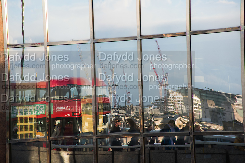 Bus, City of London. 4 March 2016