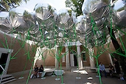 """12th Biennale of Architecture. Giardini. U.S.A. pavillion. """"Workshopping; An American Model of Architectural Practice."""
