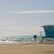 Holliwood beach at Oxnard shores. Oxnard, California. USA.