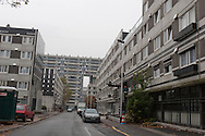 = La Courneuve , cite of 4000. daily life around the building Balzac.   suburb of Paris  France   /// La Courneuve, cite des 4000 , la vie quotidienne dans la barre Balzac   Paris  France +