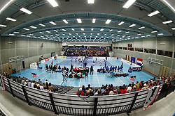 20171021 BEL: Champions League, Asterix Avo Beveren - Sliedrecht Sport: Oostakker<br />Overzicht, Edugo Arena, Oostakker - Gent<br />&copy;2017-FotoHoogendoorn.nl / Pim Waslander