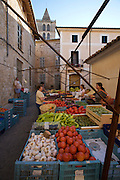 Sineu's famous Wednesday Market. Vegetables.
