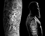 Sømænd og deres tatoveringer. Kun til longread.