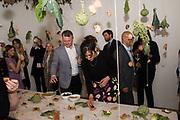 INES NETO DOS SANTOS, URBAN WILDERNESS 2018, IMMERSIVE FOOD INSTALLATION, Art Night Party, Phillips de Pury. 24 May 2018