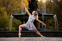 Dance As Art The New York City Photography Project Central Park Series with dancer Mykaila Symes.