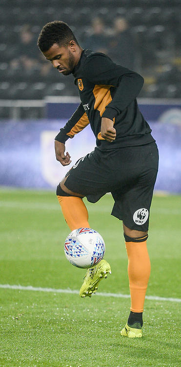 Fraizer Campbell of Hull City before the Sky Bet Championship match at the KCOM Stadium, Hull<br /> Picture by Matthew Usher/Focus Images Ltd +44 7902 242054<br /> 26/09/2017