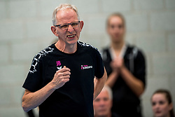 29-09-2018 NED: Supercup Sliedrecht Sport - Eurosped, Sliedrecht<br /> Sliedrecht takes the first price of the new season / Coach Jan Berendsen of Eurosped