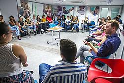 Segunda reunião do ano de 2019 do grupo Pride Connection Brasil, em Porto Alegre. FOTO: Felipe Nogs / Agência Preview