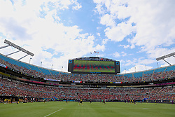 CHARLOTTE, USA - Sunday, July 22, 2018: A general view during a preseason International Champions Cup match between Borussia Dortmund and Liverpool FC at the  Bank of America Stadium. (Pic by David Rawcliffe/Propaganda)