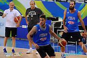 DESCRIZIONE: Torino FIBA Olympic Qualifying Tournament Allenamento<br /> GIOCATORE: Danilo Gallinari<br /> CATEGORIA: Nazionale Italiana Italia Maschile Senior  Allenamento<br /> GARA: FIBA Olympic Qualifying Tournament Allenamento<br /> DATA: 08/07/2016<br /> AUTORE: Agenzia Ciamillo-Castoria