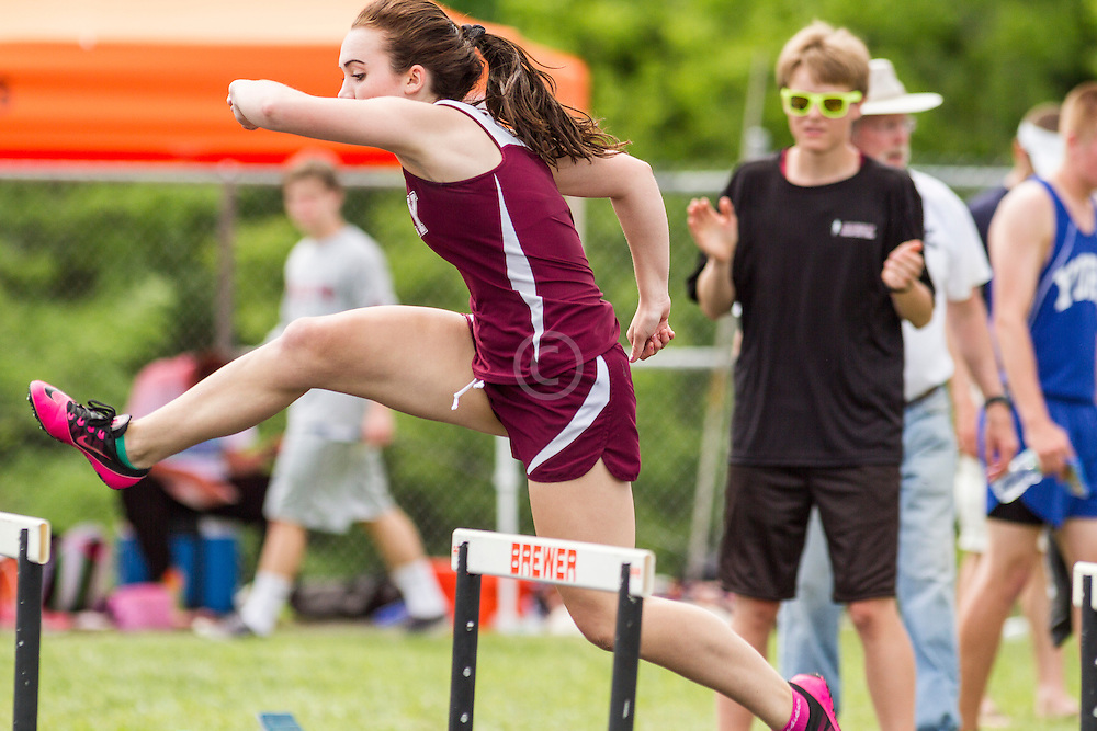 Maine State Track & Field Meet, Class B: girls 300 hurdles, Keisman, Greely