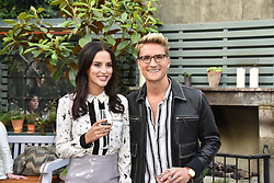 Lucy Watson and Oliver Proudlock at The Ivy Chelsea Garden's Annual Summer Garden Party, The Ivy Chelsea Garden, 197 King's Road, London England. 9 May 2017.<br /> Photo by Dominic O'Neill/SilverHub 0203 174 1069 sales@silverhubmedia.com