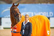 Madeleine Witte Vrees - Cennin<br /> FEI World Equestrian Games Tryon 2018<br /> © DigiShots