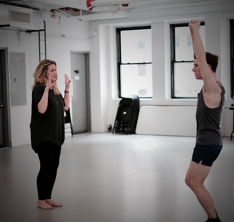 Joseph Simons Emma and Enrico rehearsal and development 100 years #historyofdance #onemanshow