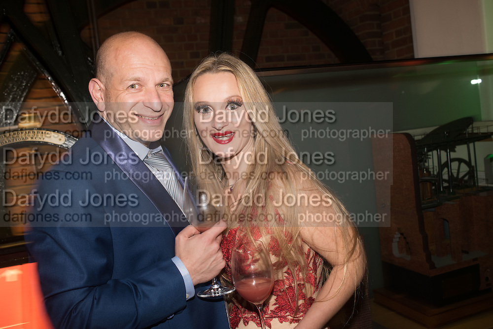 MIKE JOSEPH; LAURA JOSEPH, Action Against Cancer 'A Voyage of Discovery' fundraising dinner at the Science Museum on Wednesday 14 October 2015.