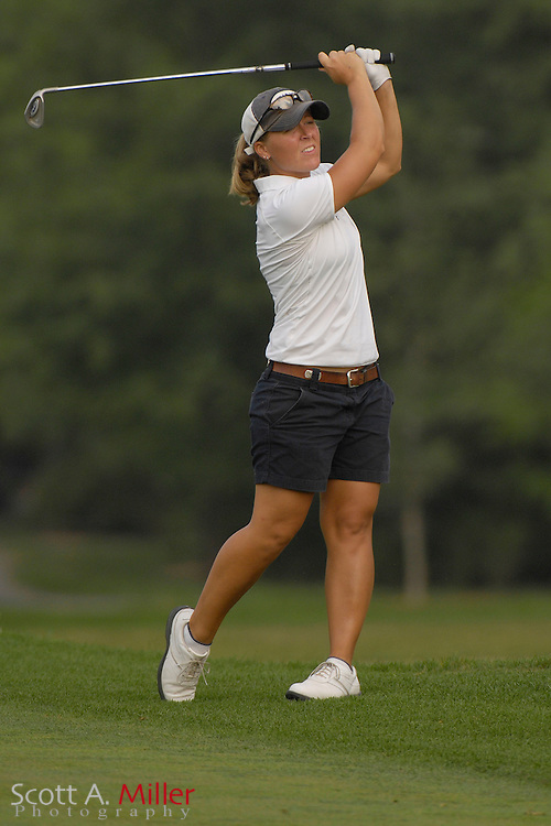 Marisa Milligan during the first round of stroke play at the U.S. Women's Amateur at Crooked Stick Golf Club on Aug. 6, 2007 in Carmel, Ind.    ...©2007 Scott A. Miller