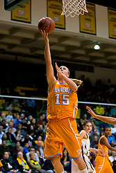 December 22, 2009; San Francisco, CA, USA;  Tennessee Lady Volunteers forward Alicia Manning (15) shoots against the San Francisco Dons during the second half at War Memorial Gym.  Tennessee defeated San Francisco 89-34.