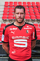 Sylvain Armand - 15.09.2015 - Photo officielle Rennes - Ligue 1 2015/2016<br /> Photo : Philippe Le Brech / Icon Sport