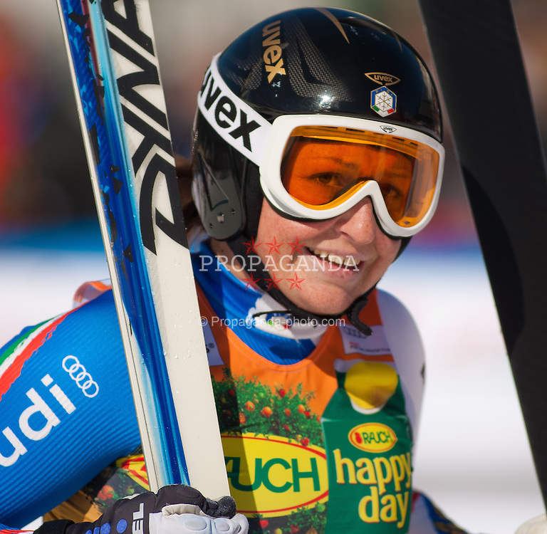 06.03.2011, Pista di Prampero, Tarvis, ITA, FIS Weltcup Ski Alpin, Abfahrt der Damen, im Bild Elena Fanchini (ITA, 14th place)  during Ladie's Super-G FIS World Cup Alpin Ski in Tarvisio Italy on 6/3/2011. EXPA Pictures © 2011, PhotoCredit: EXPA/ G. Steinthaler
