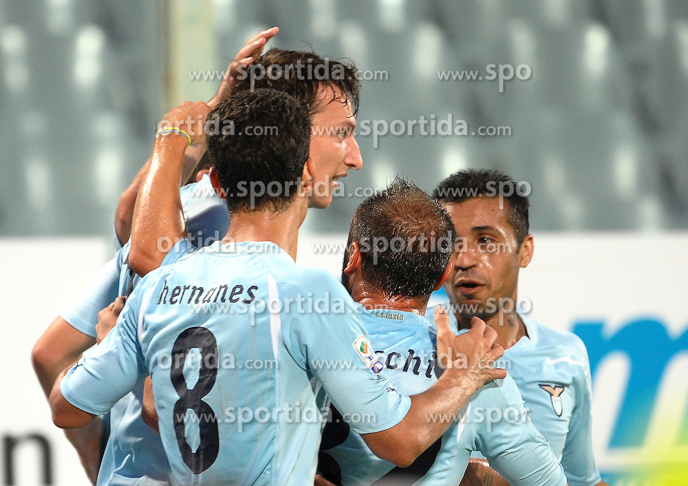 18.09.2010, Stadio Artemio Franchi, Florenz, ITA, Serie A, AC Florenz vs Lazio Rom, im BildEsultanza dopo il gol di Libon KOZAK.EXPA Pictures © 2010, PhotoCredit: EXPA/ InsideFoto/ Andrea Staccioli +++++ ATTENTION - FOR USE IN AUSTRIA / AUT AND SLOVENIA / SLO ONLY +++++... / SPORTIDA PHOTO AGENCY
