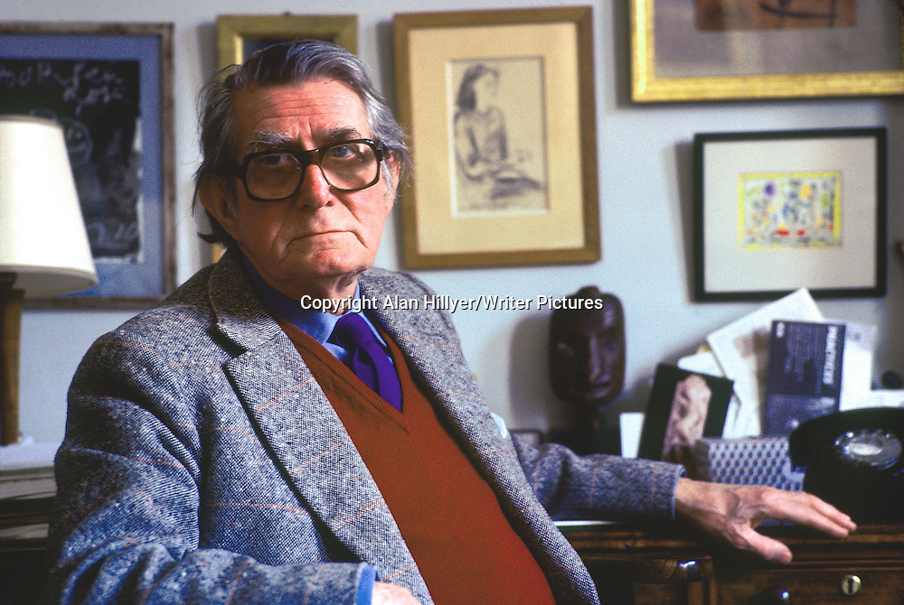 Sir Roland Penrose photographed in London. circa March 1982<br /> Picture by: Alan Hillyer/Writer Pictures<br /> <br /> WORLD RIGHTS