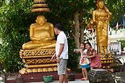 Laos, Vientiane. Wat Si Saket.