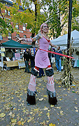 Stilt Walker, Jim Thorpe Fall Foliage Celebration, Jim Thorpe, Carbon Co., PA