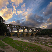 Spanning the Gardon river, the Pont du Gard dates back to the 1st Century AD and stands as proof that the Romans actually did do it all - the same basic theory of bridge construction can still be found the world over today. Over 50m high and 360m across, the Aqueduct supplied drinking water to Nimes, and was the key part of the 50km system that brought water down to the city. Civil Engineering for the ages.