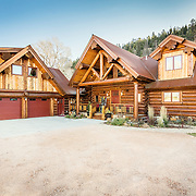 Story's Log Cabin Home in South Fork