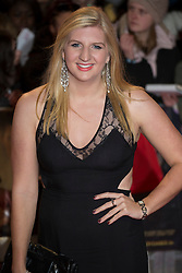 © licensed to London News Pictures. London, UK 14/11/2012. Rebecca Adlington posing on the red carpet at the UK premiere of the The Twilight Saga: Breaking Dawn Part Two in Leicester Square, London. Photo credit: Tolga Akmen/LNP