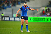 Maxime MERMOZ - 15.03.2015 - Rugby - Italie / France - Tournoi des VI Nations -Rome<br /> Photo : David Winter / Icon Sport