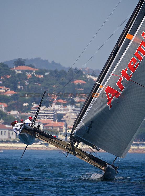 AC World Series,Cascais,Portugal.TRAINING SESION 8/ 9/2011